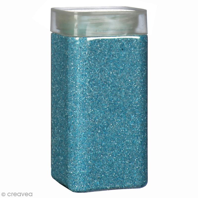 Sable décoratif - Bleu turquoise - 740 g - Photo n°1