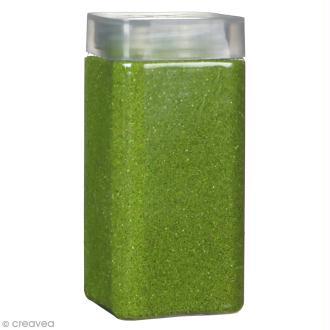Sable décoratif - Vert prairie - 740 g