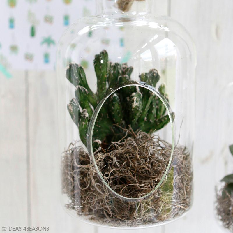 Vase ouvert à suspendre - 25 x 14 cm - Photo n°3