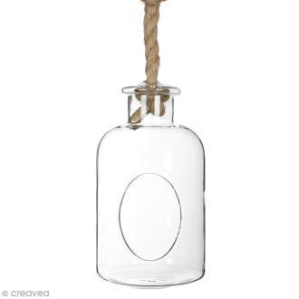 Vase ouvert à suspendre - 25 x 14 cm
