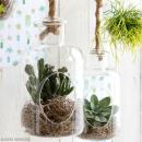 Vase ouvert à suspendre - 25 x 14 cm - Photo n°2