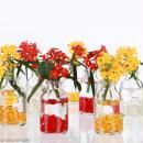 Assortiment de 50 mini bouteilles en verre - 6,5 x 3,5 cm - Photo n°5