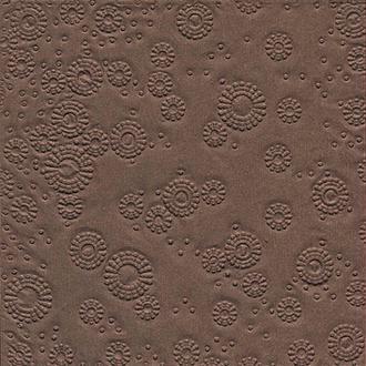 Serviette en papier Texture relief marron chocolat