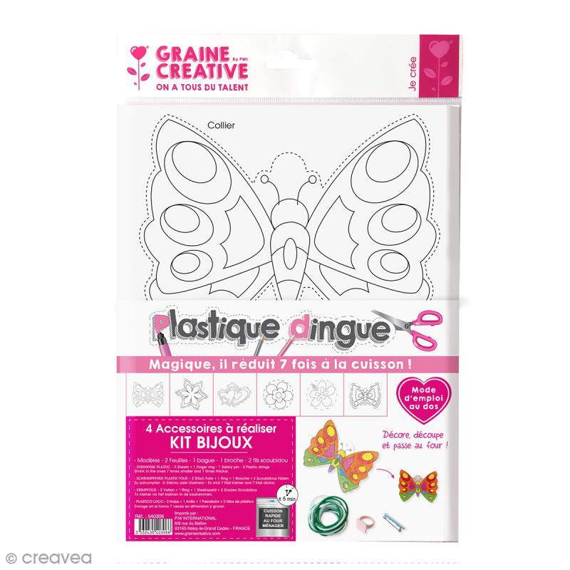 Kit créatif plastique dingue - Bijoux - Photo n°1