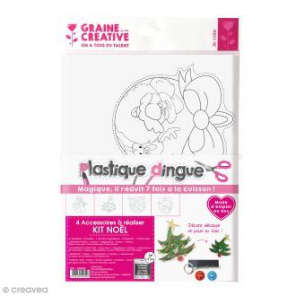 Kit créatif plastique dingue - Noël