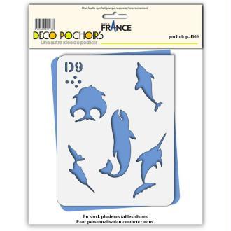 Pochoir poisson