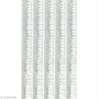Assortiment de fil cure-pipe Blanc 30 cm x 50