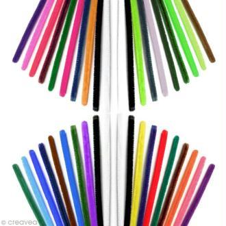 Assortiment de fil cure-pire Multicolore 30 cm x 210 gros conditionnement