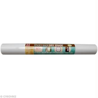Tableau Blanc autocollant 75 x 45 cm