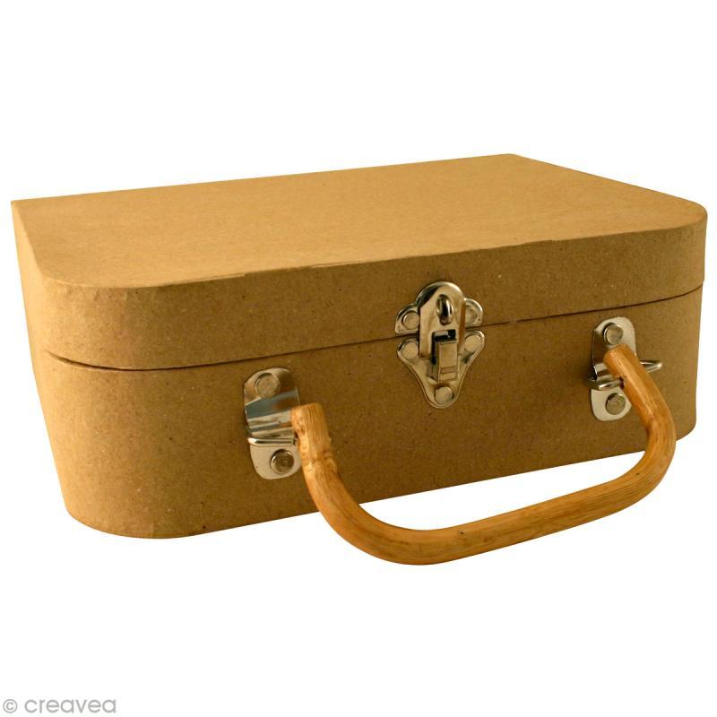 valise d corer en papier m ch objets divers d corer. Black Bedroom Furniture Sets. Home Design Ideas