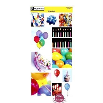 Stickers Anniversaire Pebbles Inc 31 x 15 cm scrapbooking