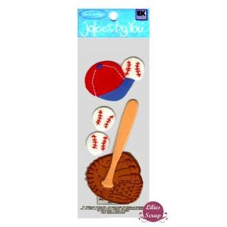 Embellissements Baseball Jolee's scrapbooking