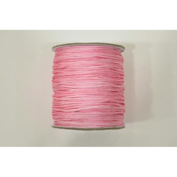 couleur : Bordeaux Attache tétine Shamballa 3 m Cordon // Fil polyester 2 mm