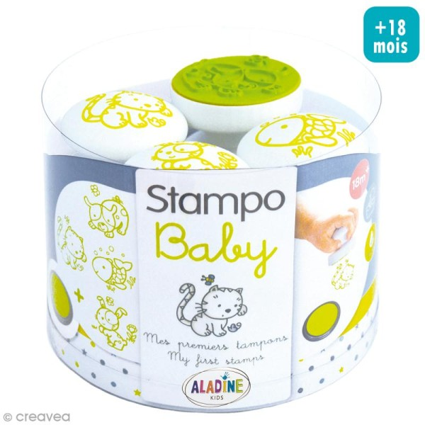 Tampon Stampo'baby Animaux familiers - Photo n°1