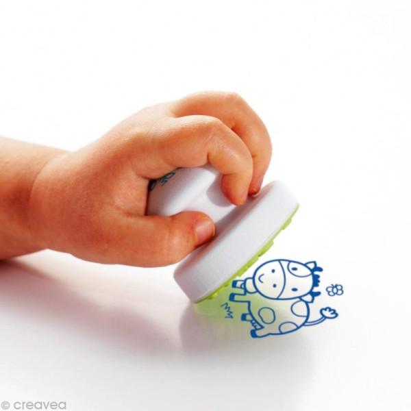 Tampons Stampo'baby Ferme - 4 pcs + 1 encreur - Photo n°4