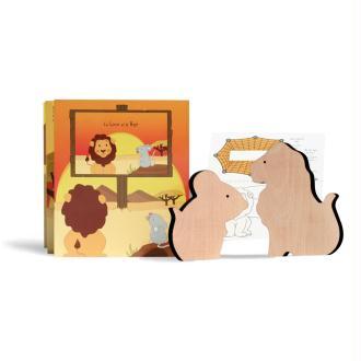Fable animée - Le Lion et le Rat