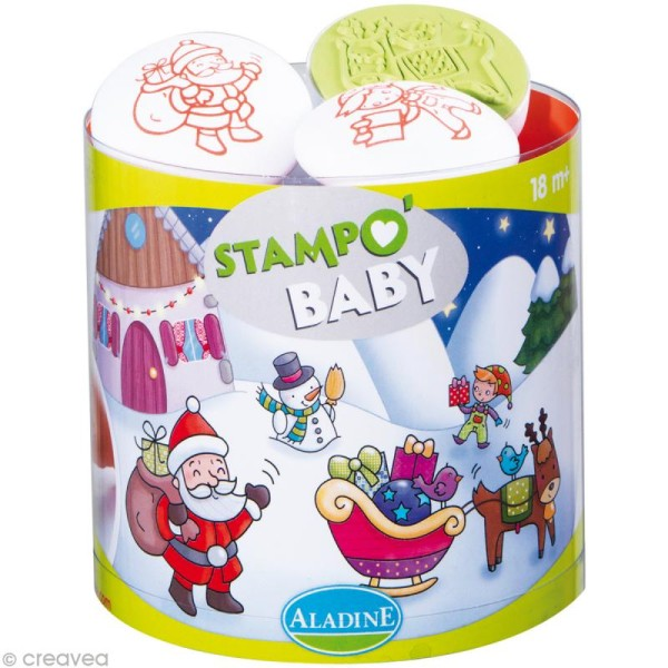 Tampon Stampo'baby - Noël - Photo n°1
