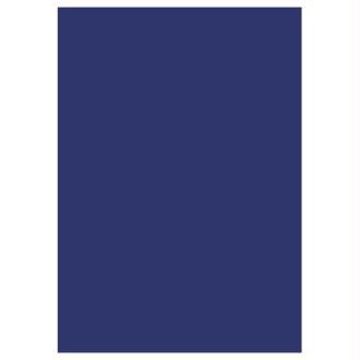 5 feuilles de papier de soie - Bleu foncé
