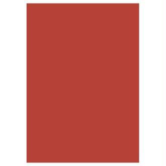 5 feuilles de papier de soie - Vermillon