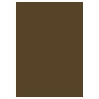 5 feuilles de papier de soie - Marron