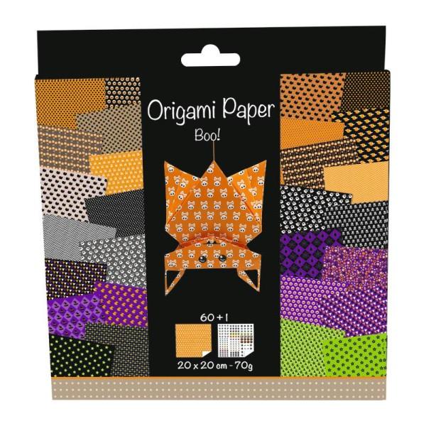 Origami paper - Boo ! - Photo n°2