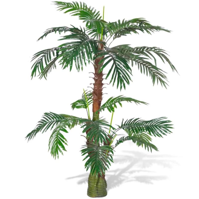 Palmier artificiel plastique 150 cm fleurs et plantes for Acheter palmier artificiel