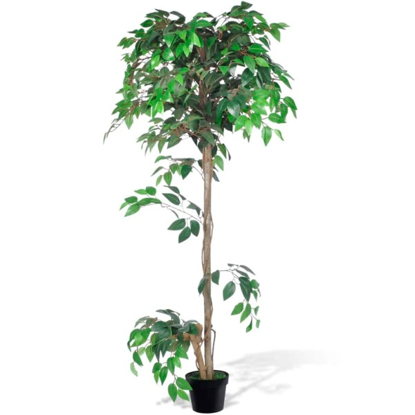 Palmier Artificiel Plastique Avec Pot 160 Cm - Photo n°1