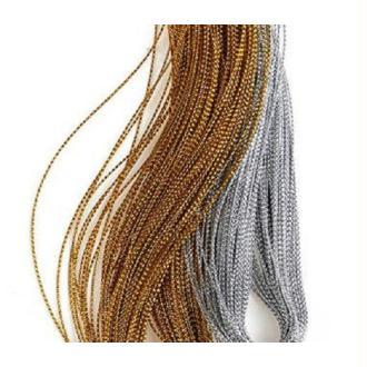 Fil lurex nylon 0.5mm - 5 mètres