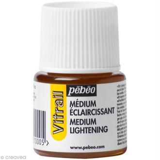 Médium éclaircissant pour vitrail - 45 ml