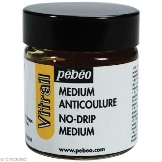 Médium anti coulure pour vitrail - 30 ml