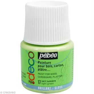 Peinture P.BO Déco 45 ml - brillant - Vert lumière