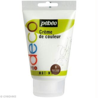 Crème de couleur Pébéo 110 ml - Blanc nuage