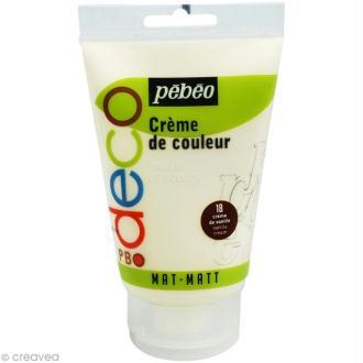 Crème de couleur Pébéo 110 ml - Beige vanille