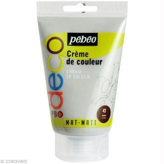Crème de couleur Pébéo 110 ml - Gris mine