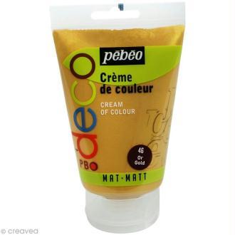 Crème de couleur Pébéo 110 ml - Or