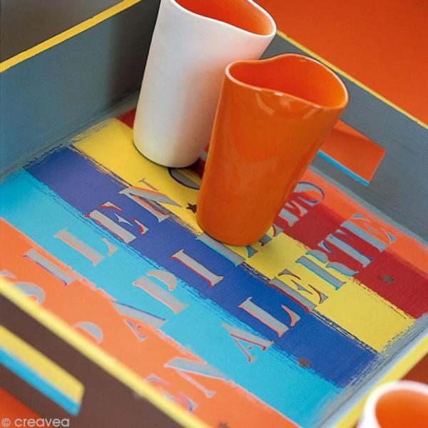Peinture tissu Pébéo Setacolor 45 ml - opaque - Rouge grenat - Photo n°4