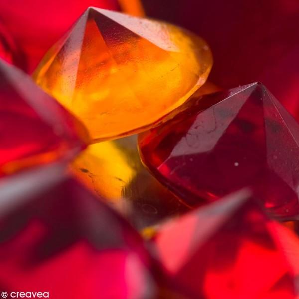 Résine Gédéo couleur - kit Rouge rubis 150 ml - Photo n°2