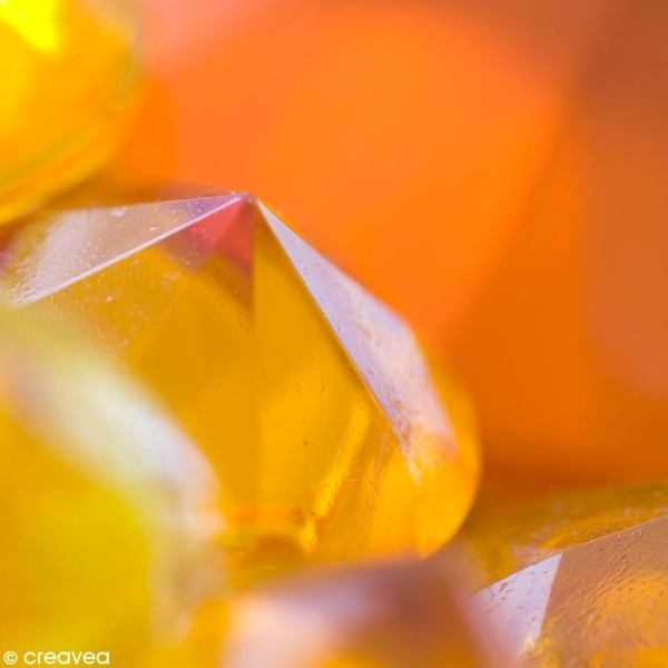 Résine Gédéo couleur - kit Jaune topaze 150 ml - Photo n°2