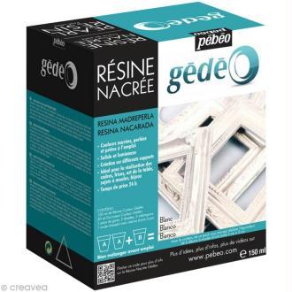Résine Gédéo nacrée - kit Perle 150 ml