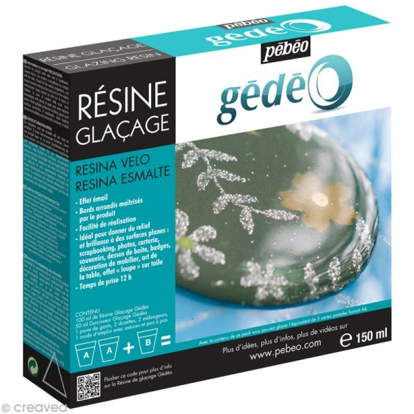 Résine Gédéo - kit glaçage 150 ml - Photo n°1