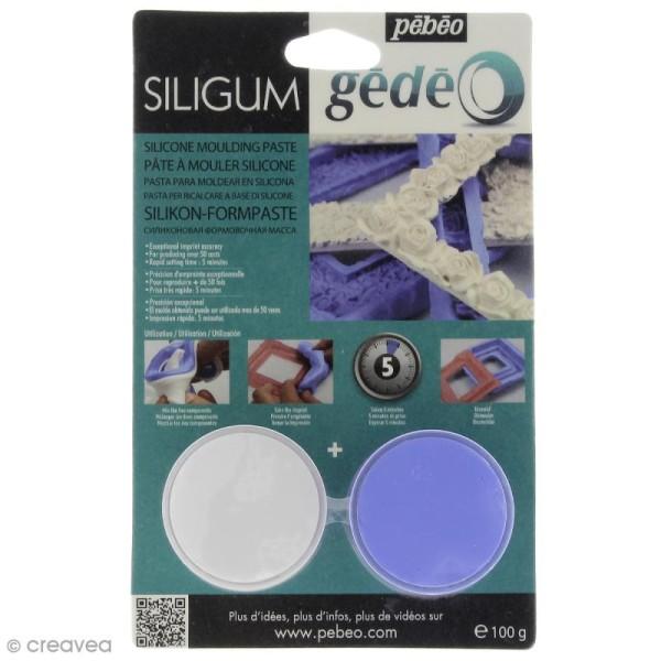Pâte à mouler Siligum Gédéo 100 g - Photo n°1