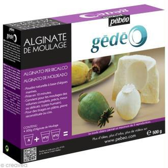 Alginate de moulage Gédéo 500 g