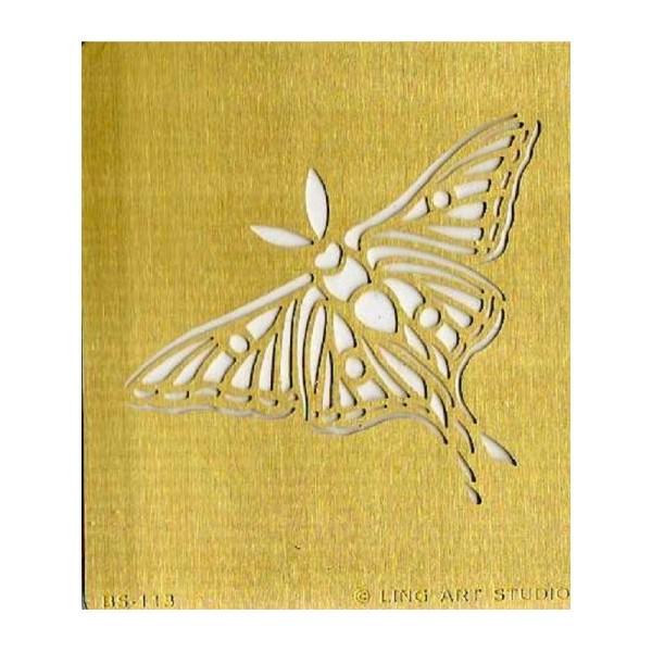 verre Papillon Pochoir Modèle 2 Craft tissu mobilier Wall Art jusqu/'à A0