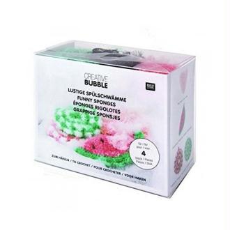 Kit Creative Bubble FUNNY pour réaliser 4 éponges rigolotes