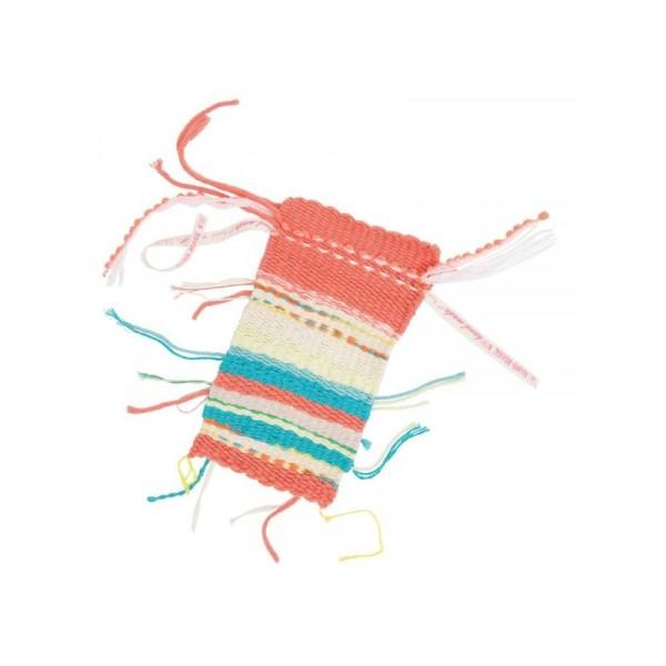 Kit Petit Métier à Tisser la laine 29x19cm - Photo n°4