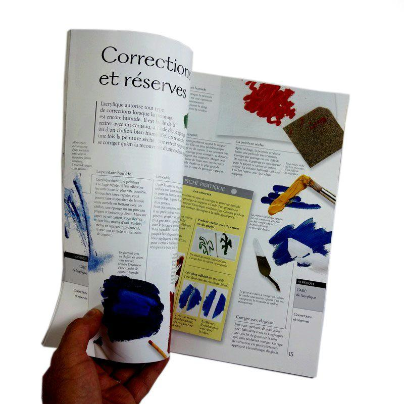 Atelier box d couverte de l 39 acrylique kit peinture creavea for Atelier cuisine sans cuisson
