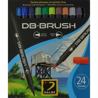 Set 24 feutres pinceau DB-Brush
