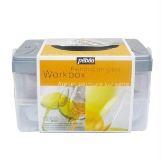 Pébéo work box Peinture Vitrea 160