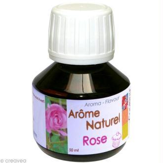 Arôme alimentaire naturel Rose 50 ml