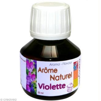 Arôme alimentaire naturel Violette 50 ml